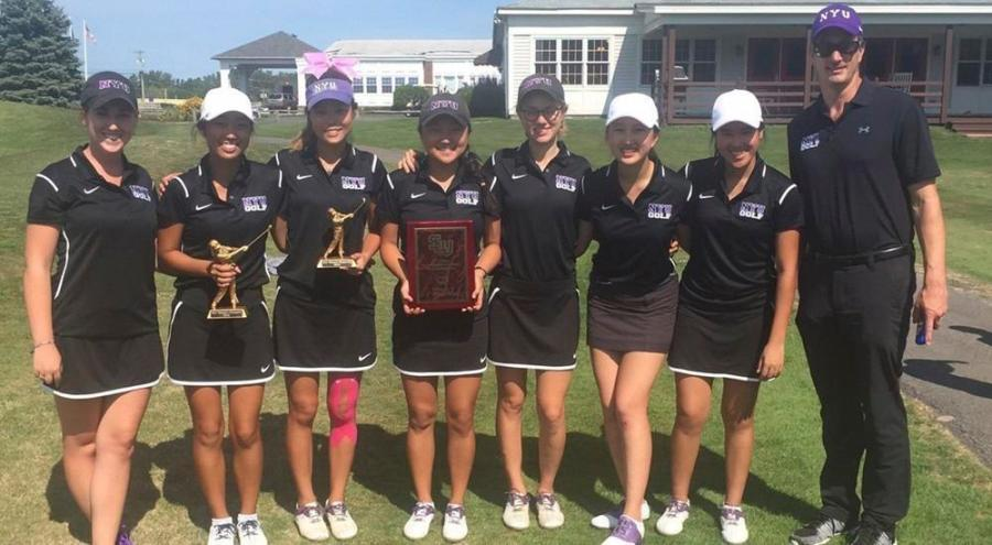 NYU Men and Women's golf competed this past weekend at the St. Lawrence University invitational and both teams finished first in their respective tournaments.