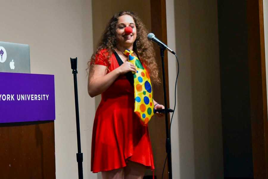 Class Clown Comedy Show is NYU's annual marquee event that is part of the Welcome {Back} Week.
