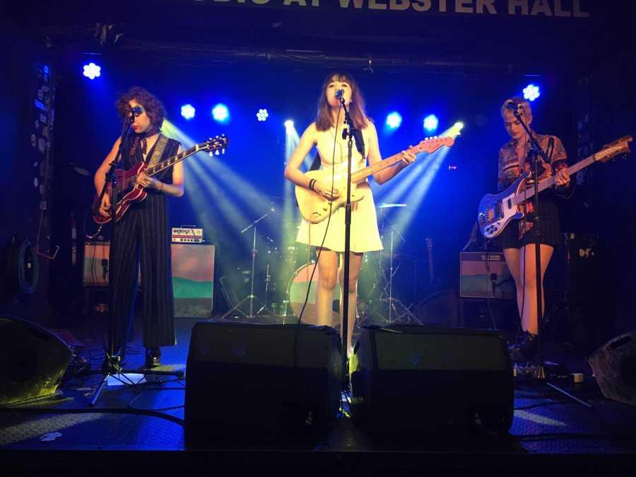 LA based teenage girl band The Regrettes rocked the Studio at Webster Hall.