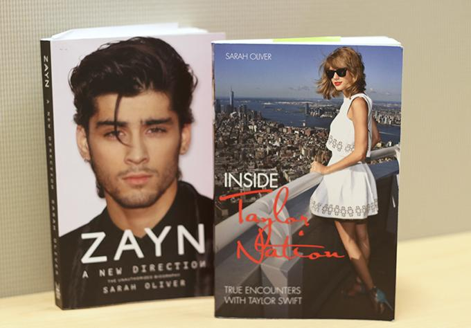 Sarah Oliver's most recent works include biographies of two young pop artists Zayn Malik and Taylor Swift.