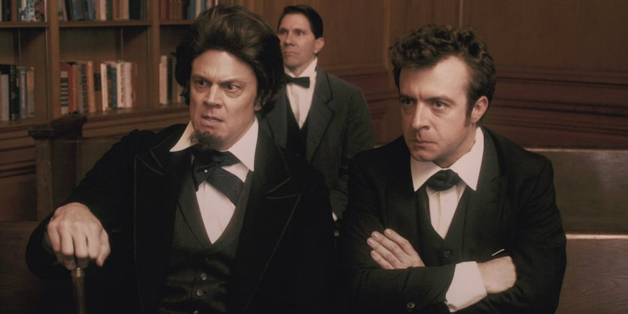 """In Comedy Central's series """"Drunk History,"""" drunk comedians retell history as live recreations mimic their tellings."""