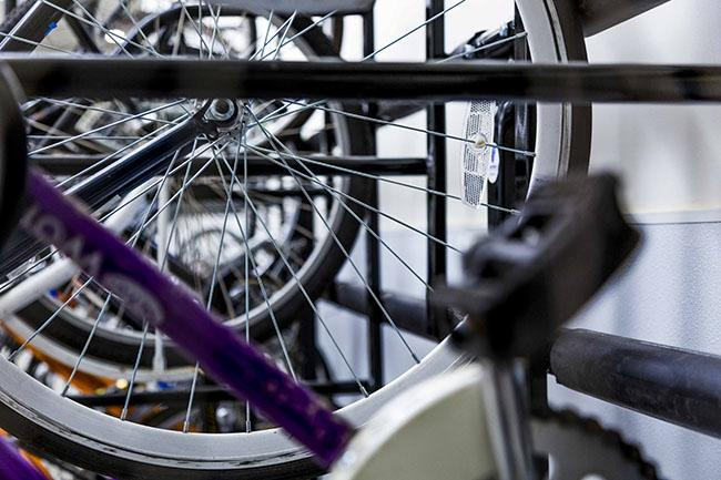 Bikes are available at most NYU residence halls and buildings around campus, making both exercise and transportation easily accessible and free.