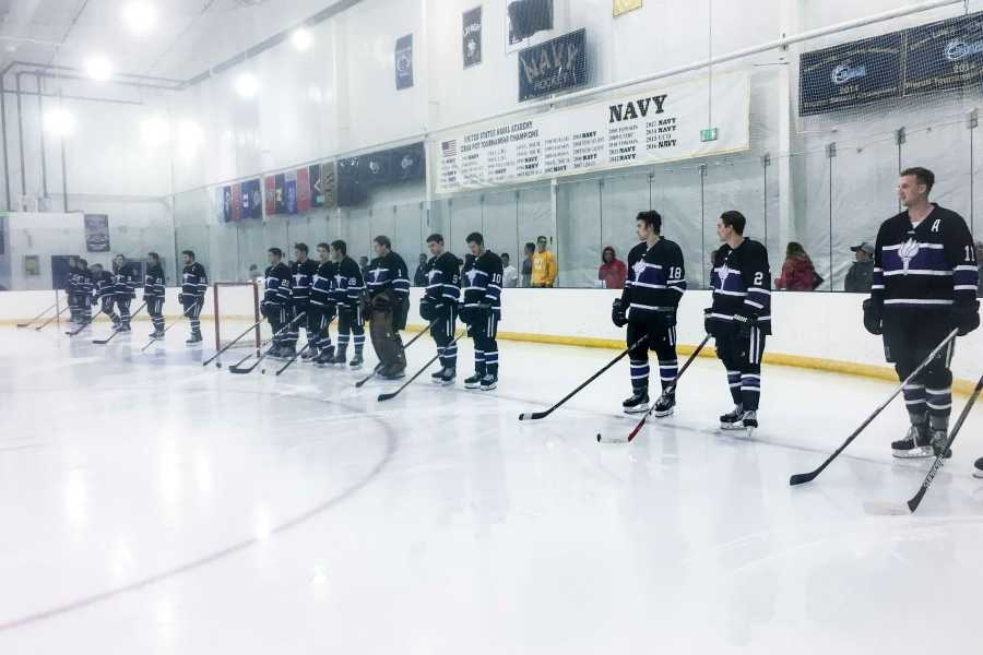 The NYU Hockey team continued their undefeated season with matches against the US Naval Academy and the University of Maryland-Baltimore.