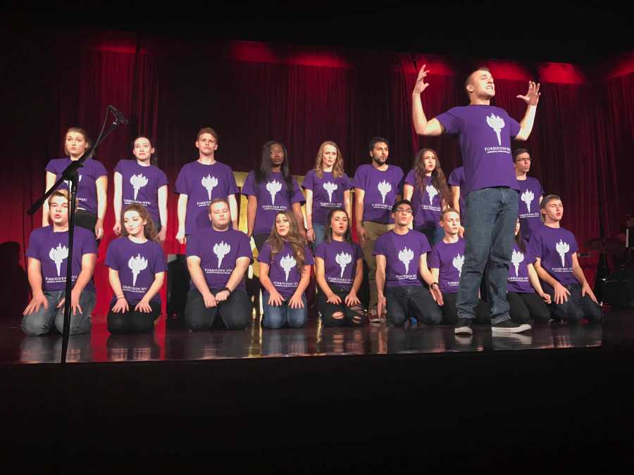 Student members of the College of Arts and Sciences wrote and performed the NYU-themed parody show which ran for three nights.