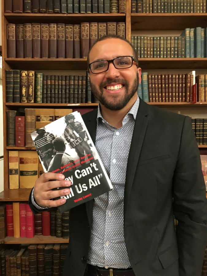 """When discussing his new novel """"They Can't Kill Us All,"""" journalist Wesley Lowery reflected on the way the Black Lives Matter movement is intertwined with American history."""