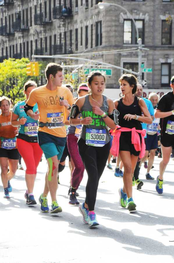 Lipton RA and CAS Senior Ying Xin Tan added to her workload by training for the New York City Marathon.