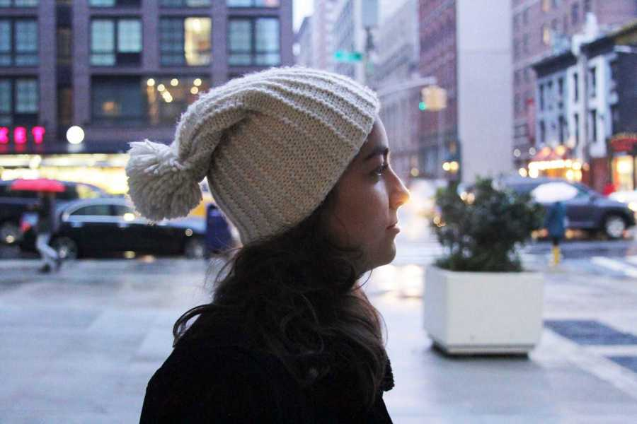 Beanies can be styled in a variety of ways.