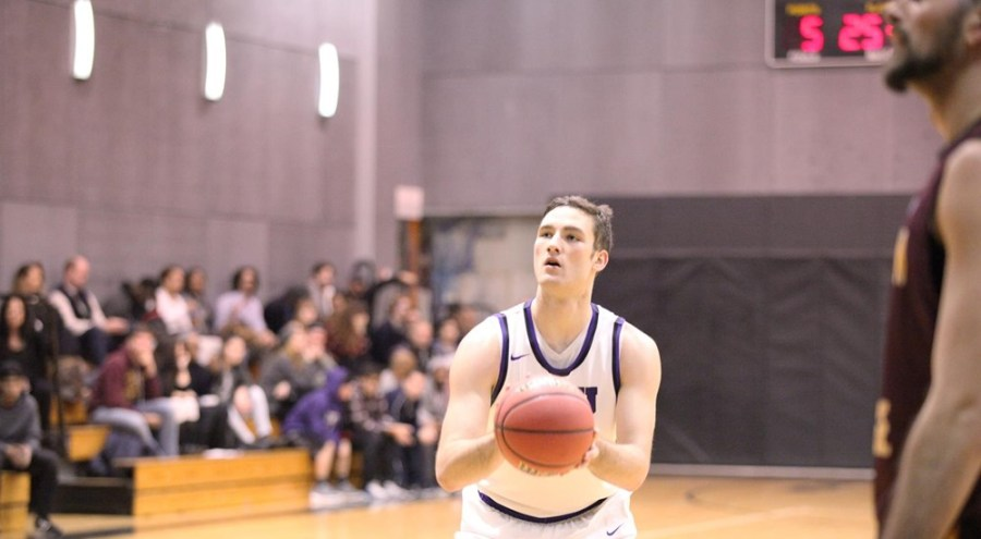 During their game on Sunday against the University of Chicago, freshman Ted Georgiadis scored 12 points.