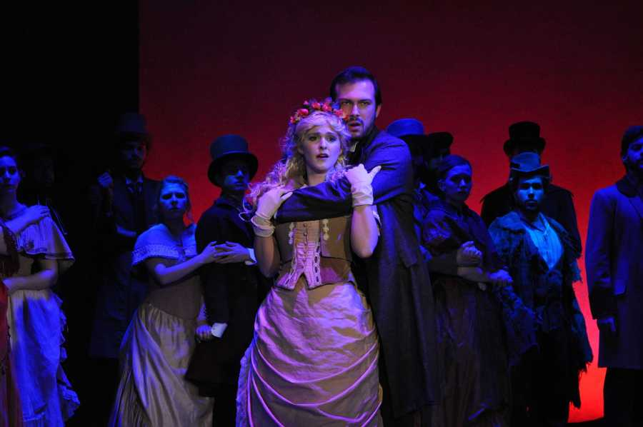 Stephen+Heller+and+Stephanie+Bacastow+fronted+the+Steinhardt+Vocal+Performance+department%E2%80%99s+%E2%80%9CThe+Mystery+of+Edwin+Drood%2C%E2%80%9D+as+John+Jasper+and+Rosa+Bud.