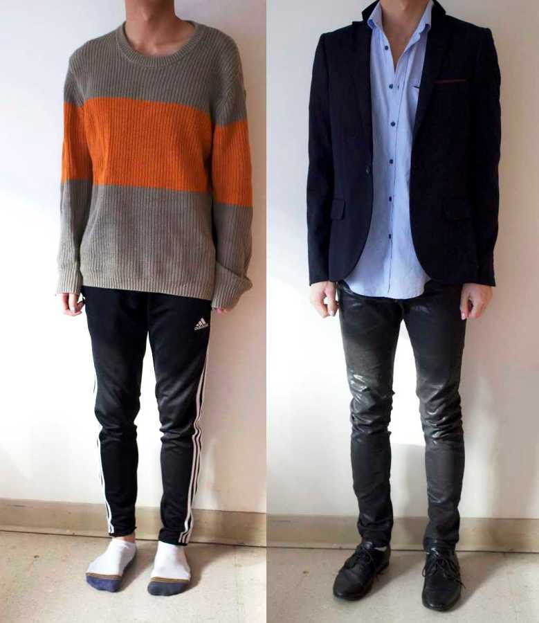 Lazy day outfits are in. Many people are now mixing athleisure with statement pieces for a nice, casual look.