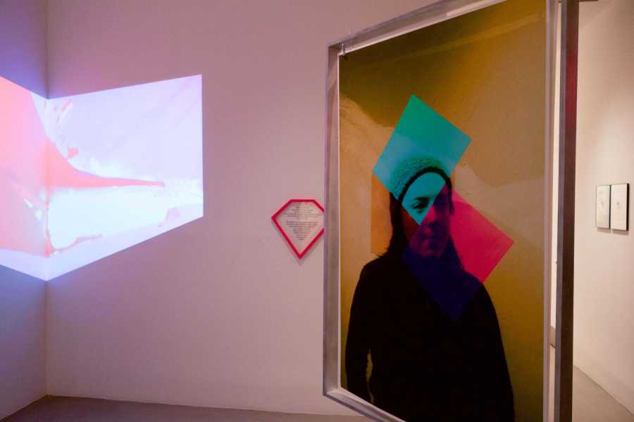 Work from the Steinhardt MFA Studio Art Program's First Year Show, running until March 25. The exhibit demonstrates the diverse and interdisciplinary work of the students in the first year of their graduate studies.