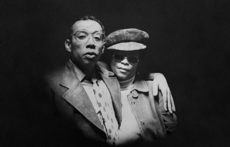 """Lee Morgan, the legendary New York jazz trumpeter, poses with his wife and murderer, Helen More. The new documentary by Kasper Collin, """"I Called Him Morgan,"""" retells the life of the musician."""