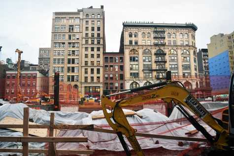 Several local Mercer Street residents have expressed concerns over recent NYU plans for 181 Mercer Street. They cite that the new proposals could  impact air quality and amount of natural light surrounding their buildings.