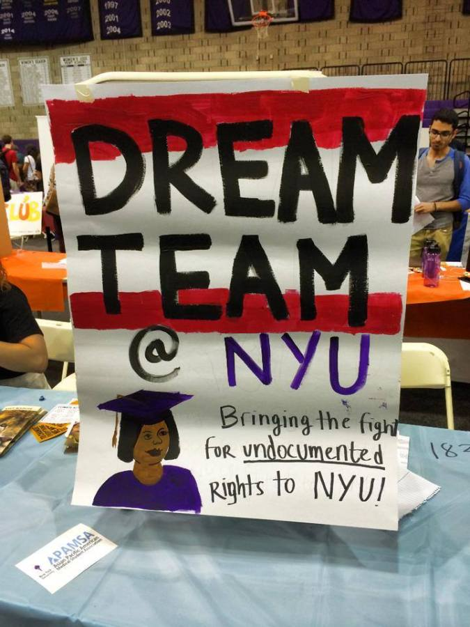 The NYU DREAM Team, who works to provide a safe space for undocumented students at the university, has raised concerns about the deportation of Juan Manuel Montes. Montes is the first public case of a protected DACA person being deported.
