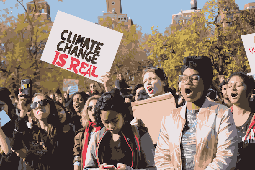 There are many opportunities for NYU students to make an environmental impact, such as participating in NYU Divest or the Community Agriculture Project.
