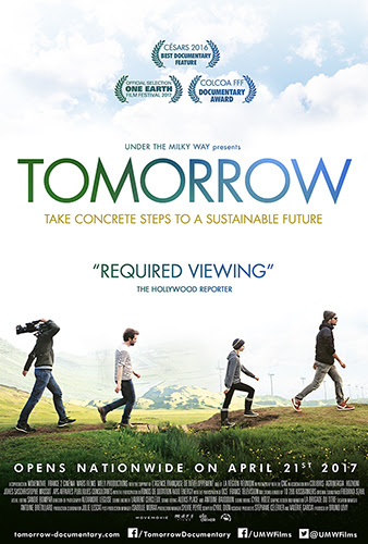 """""""Tomorrow,"""" a film directed by Cyril Dion and Melanie Laurent, highlights the warnings of climate change and how people can fix it. """"Tomorrow"""" opens at the Village East Cinema at 181-189 Second Ave. Friday, April 21."""