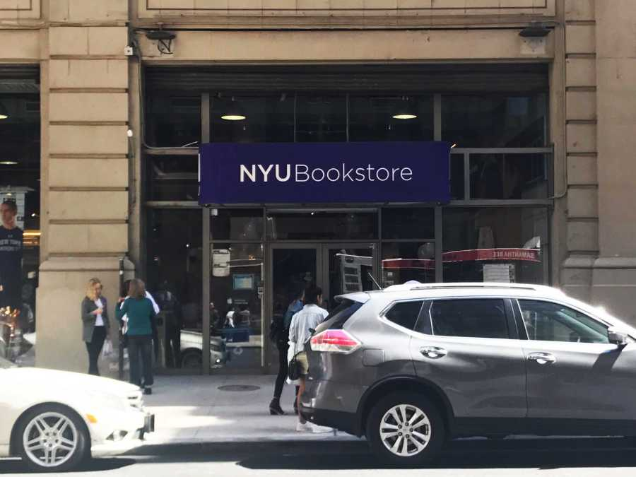 The shots were fired on the same street as the NYU Bookstore.