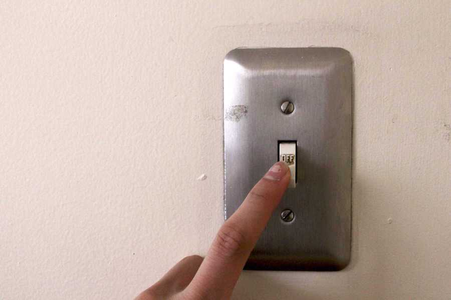 There are many little changes students can make in their daily habits to help the environment. Such changes include turning off the light switch whenever one no longer needs it.