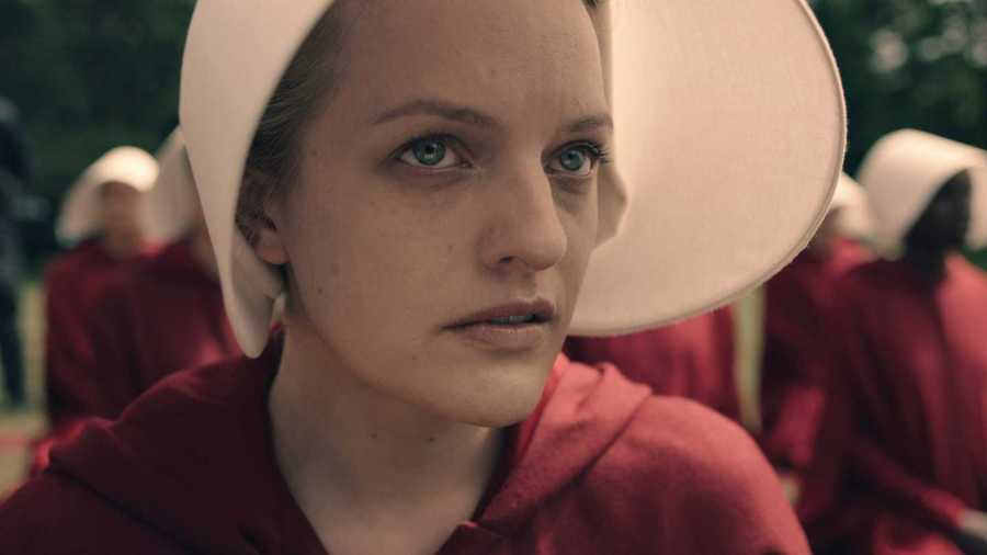 """""""The Handmaid's Tale,"""" directed by Bruce Miller and based off Margaret Atwood's 1985 novel, will debut on Hulu beginning April 26. The first episode screened at the Tribeca Film Festival this Friday."""
