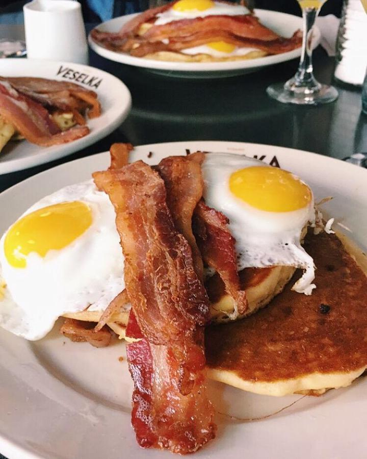 Open 24 hours a day, Veselka is a diner at 144 2nd Ave. that serves a variety of classic Ukranian food. Here is a list of several breakfast places on campus that will satisfy your craving at any time in the day.