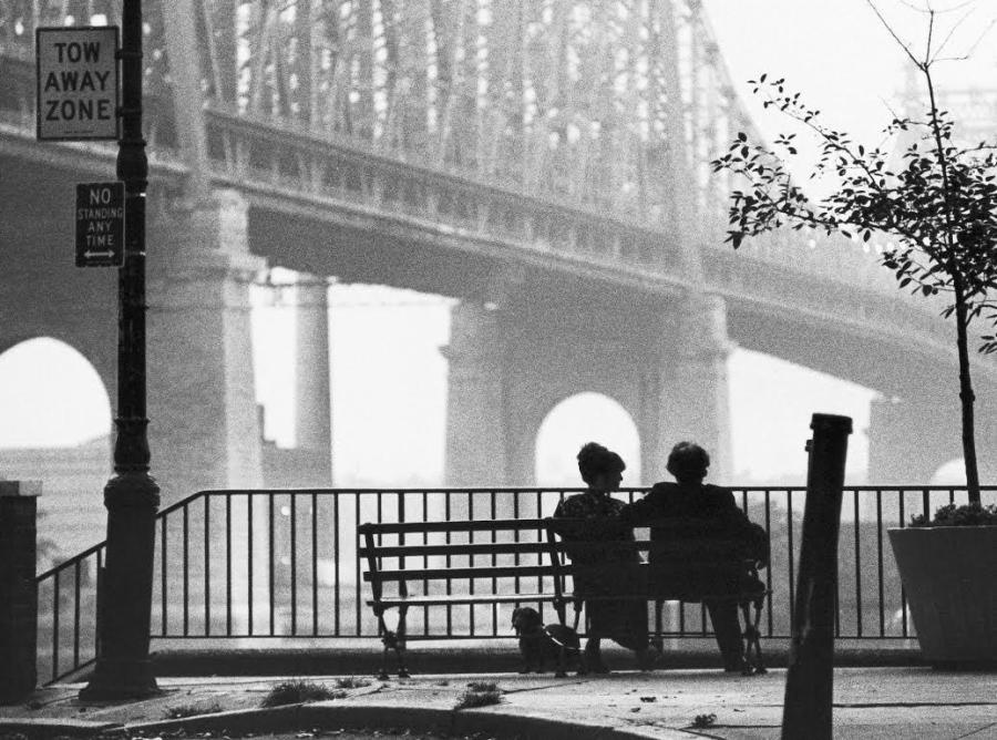 Nothing says New York film classic like Woody Allen's Manhattan, showcasing some of the city's iconic views.