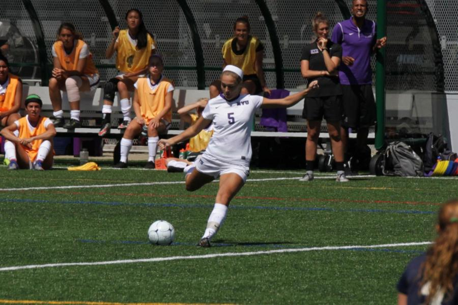 CAS sophomore Alex Benedict scored goals in both NYU's games on Friday and Sunday.