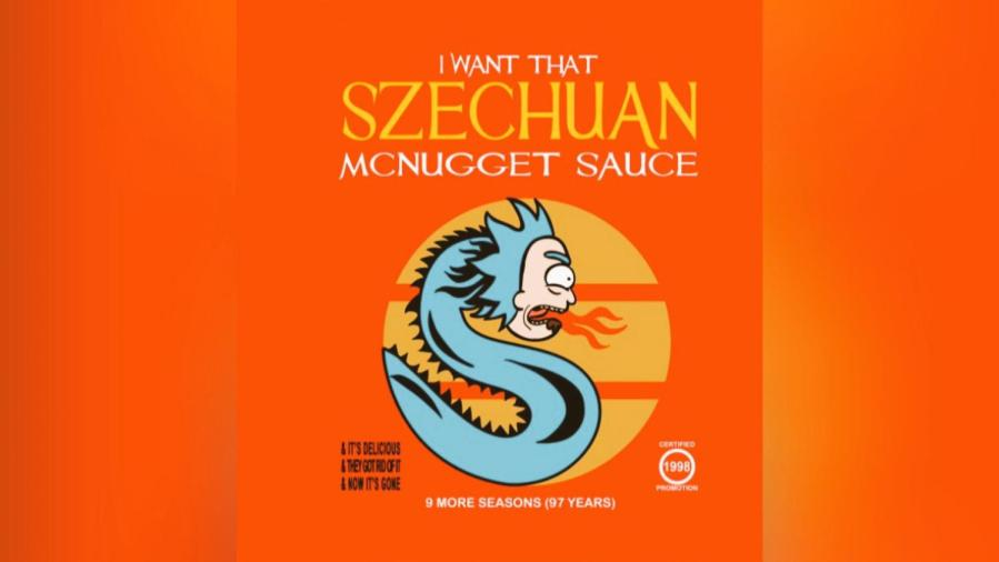 Many NYU's Rick and Morty fans lined up outside the McDonalds on 728 Broadway to claim the famous Szechuan sauce.
