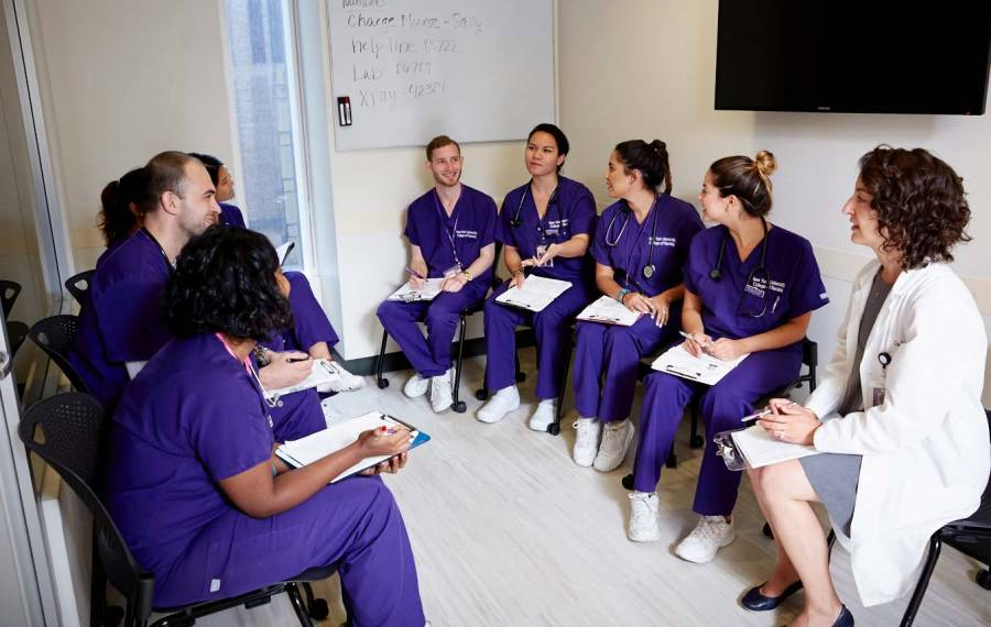 "NYU's Rory Meyers College of Nursing ranked number ten on Nursing School Hub's ""Top 30 Cutting Edge Nursing Schools."""