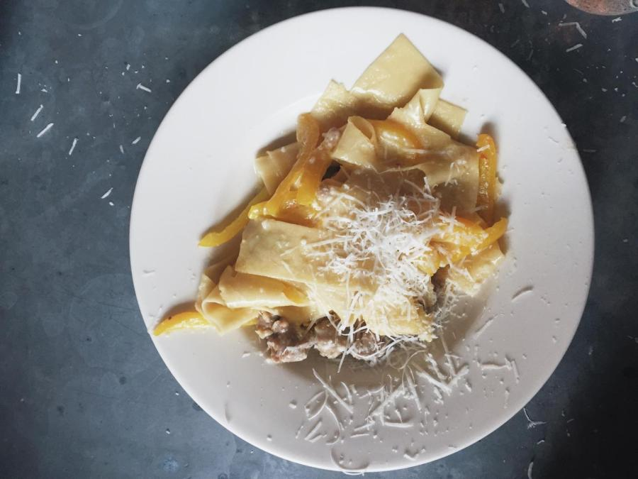 San Marzano is an East Village favorite and offers a number of different pasta plates for nine dollars.