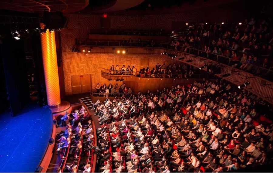 NYU's Skirball Center of the Performing Arts (via NYU).