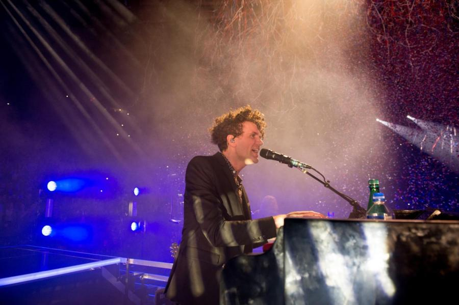 The Killers performed at Madison Square Garden on Friday, Jan. 19.