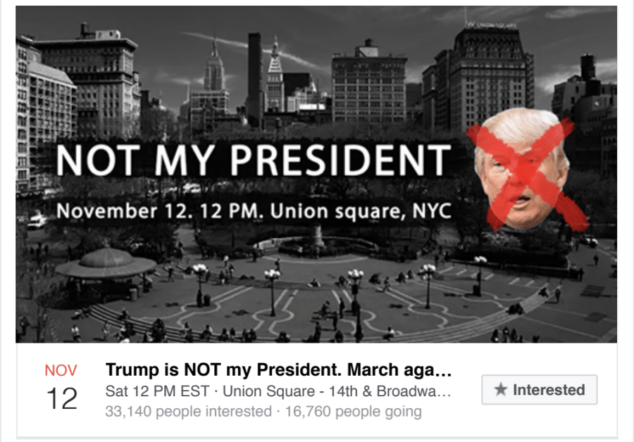 A Facebook event at Union Square in 2017 was part of a Russian misinformation campaign.