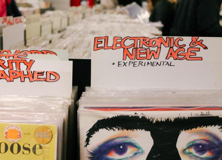 The store also offers records of lesser known genres and artists.