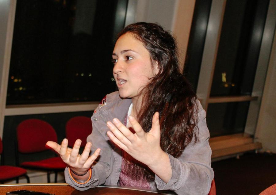 Cristina Maria de la Puerta, Freshman, Liberal Studies