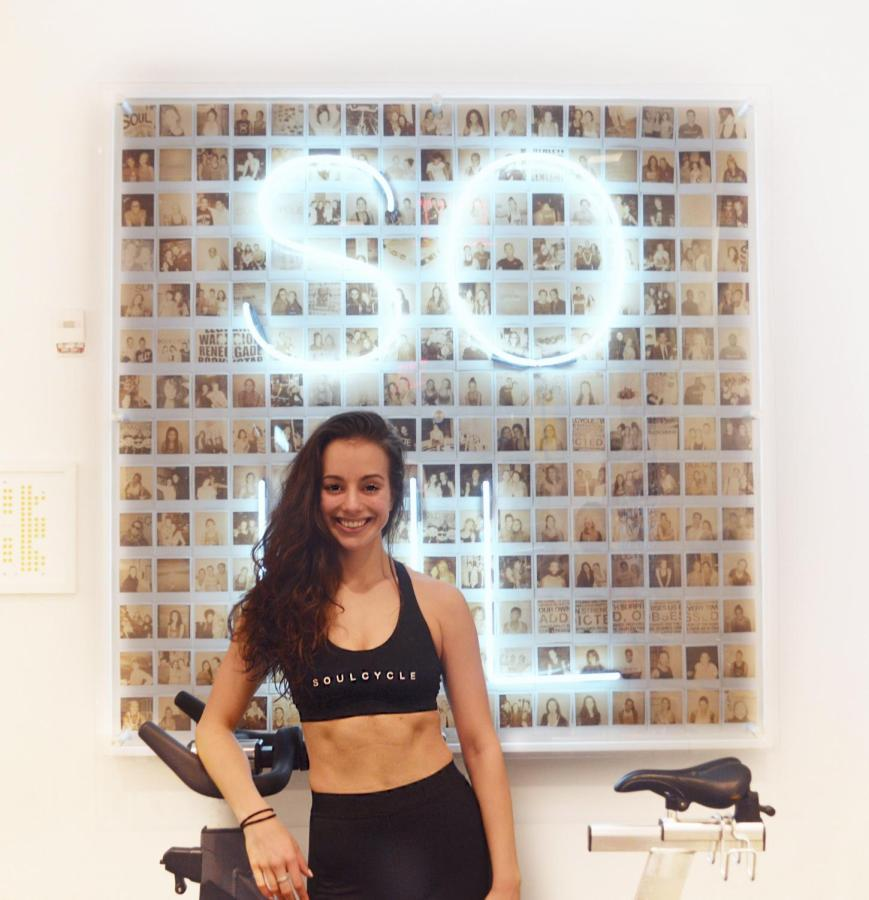 Former NYU student Sophia Goldstein, is a full-time instructor at the SoulCycle studio.