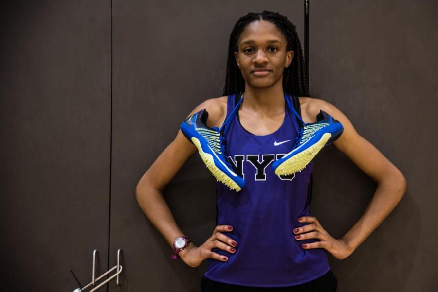 After finishing 15th at the NCAA Indoor Championships last year, Evelyn Nkanga is setting up for an impressive sophomore campaign.