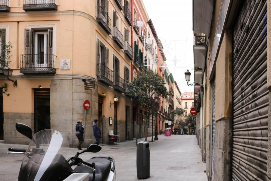 The streets of Madrid where NYU students have a chance to study abroad. (Photo by Jemima McEvoy)