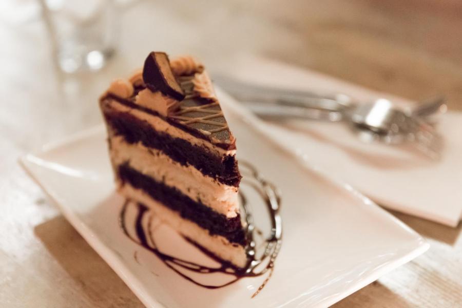 The Peanut Butter Heaven cake.