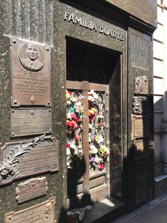 Evita+Perons+grave+in+Recoleta+Cemetery.+Shes+the+only+resident+of+the+cemetery+that+has+fresh+flowers+left+by+locals+and+tourists+every+single+day.