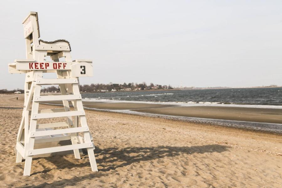 Penfield Beach is one of the sandy waterfronts in Fairfield, CT.