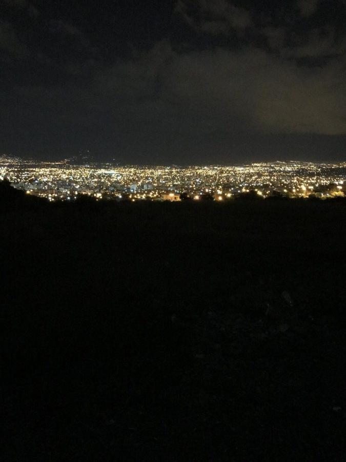 Cochabamba, Bolivia, by night.