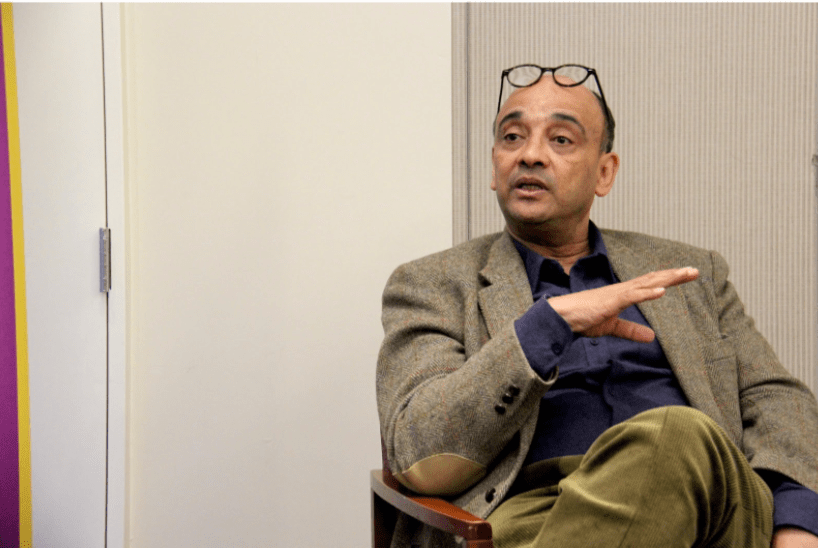 NYU professor Kwame Anthony discusses identity as a part of The Review and Debates of NYU.