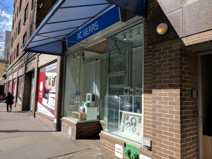 AC Gears, a tech shop on 8th street.