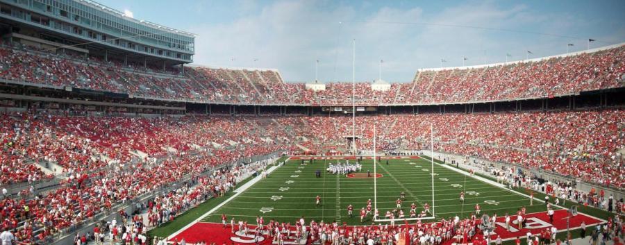 Ohio State Stadium on game day.