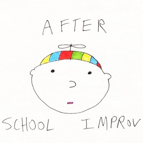 The logo of NYU's sketch comedy group After School Improv.