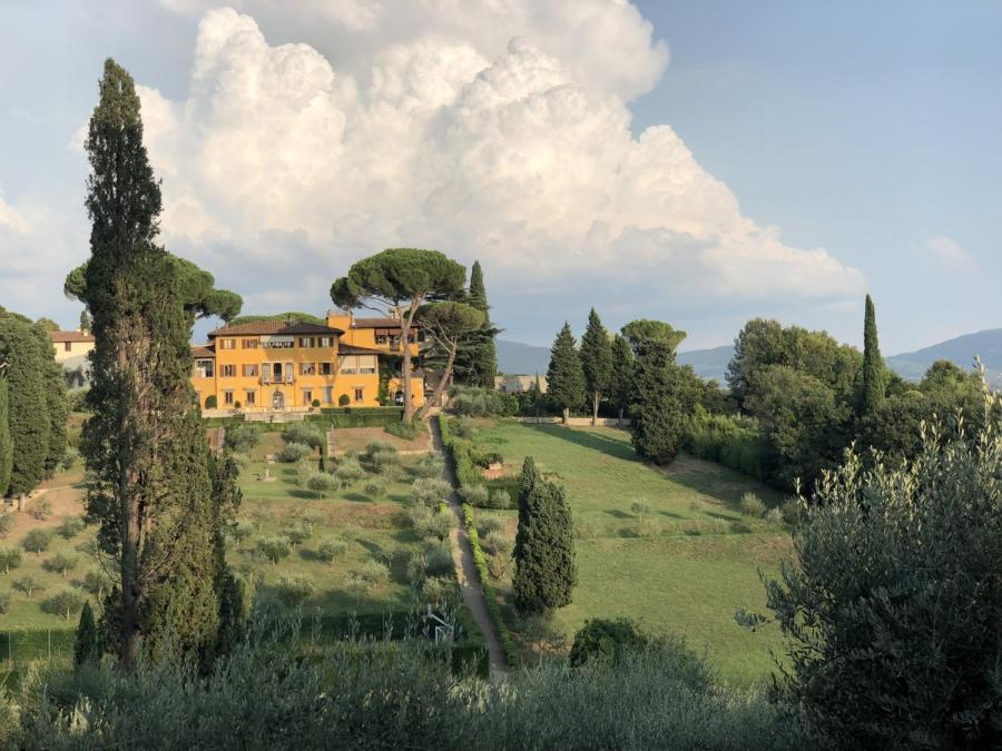 A view of NYU Florence campus from Villa Natalia. (WSN File Photo)