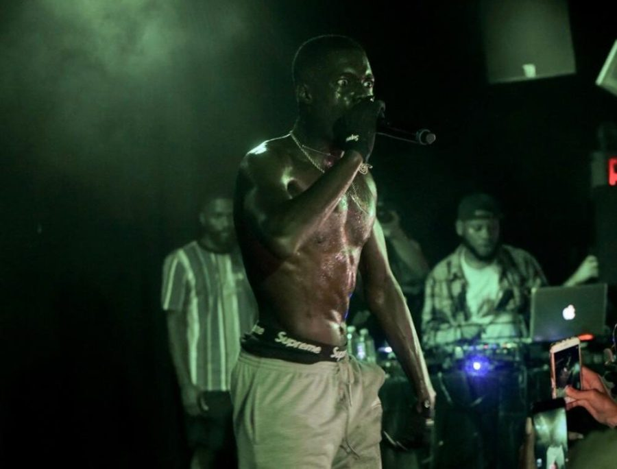 Sheck Wes at this year's Mystery Concert.
