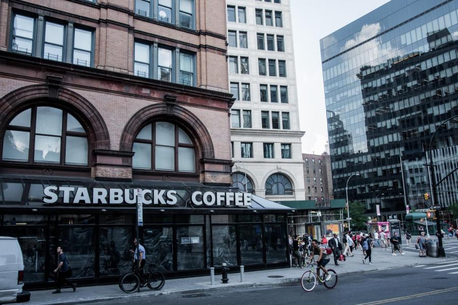 The Astor Place Starbucks appeared twice in the Sex and the City movie.