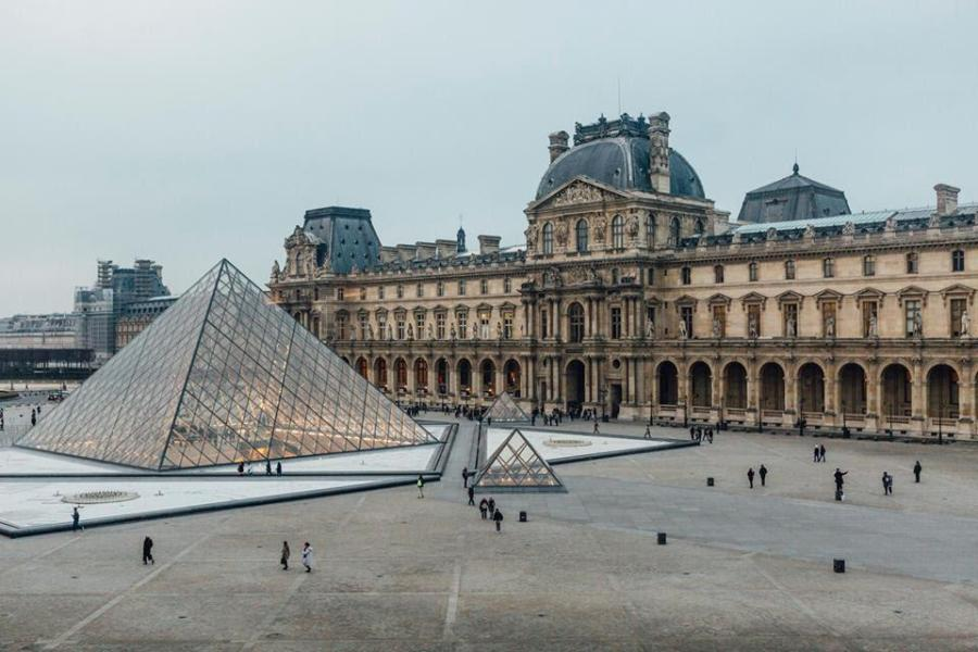 The Louvre and the Palace