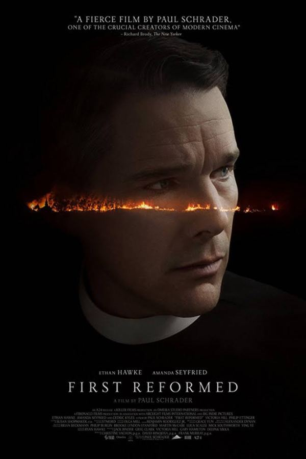 """Movie poster from """"First Reformed"""""""